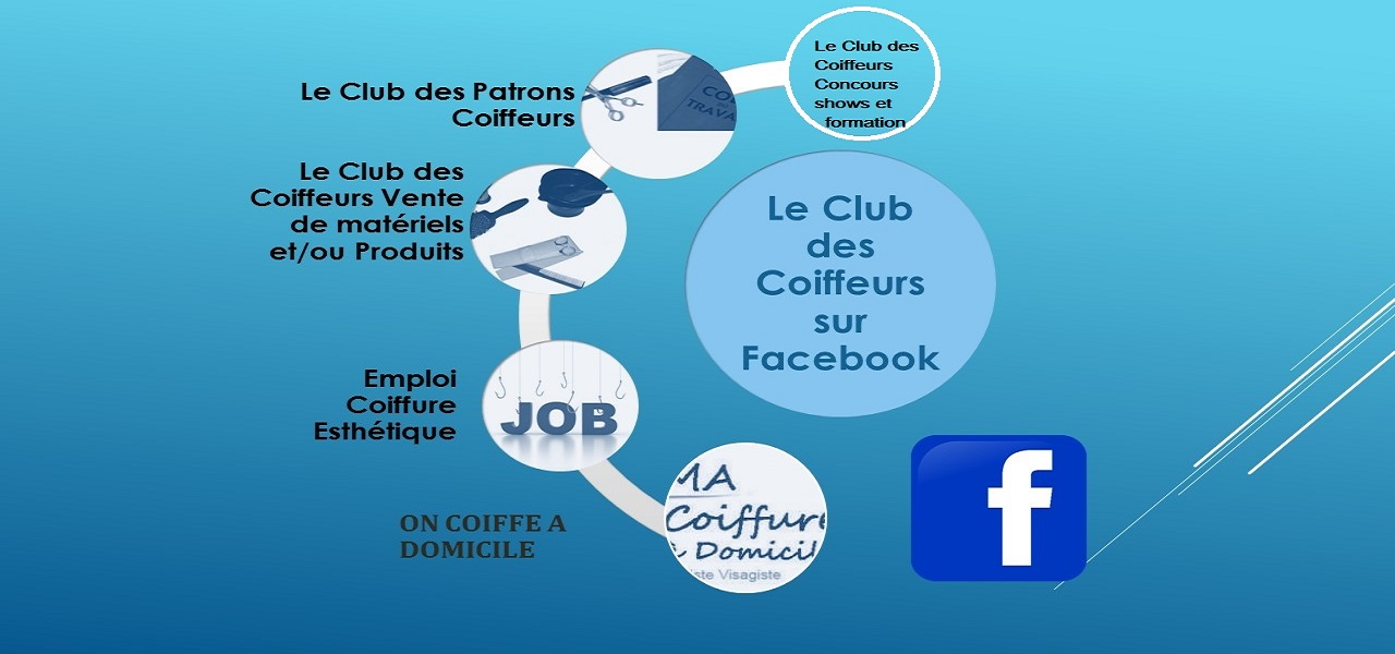 Le club des coiffeurs sur Facebook